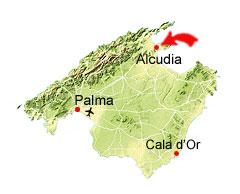 Port d'Alcudia kart