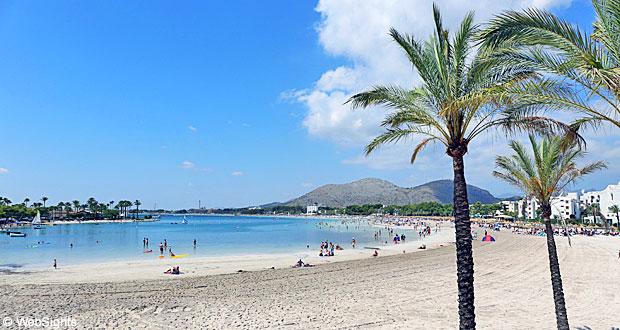 Port d'Alcudia strand